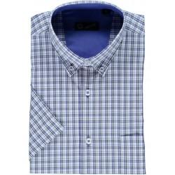 Camisa xadrez manga curta
