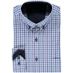 Camisa xadrez manga comprida