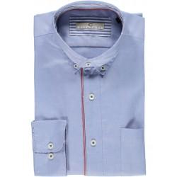 Camisa lisa manga comprida