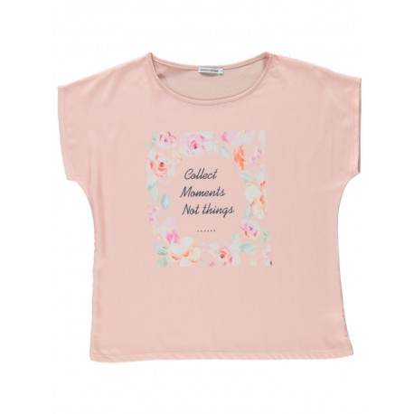 T-shirt estampado letras