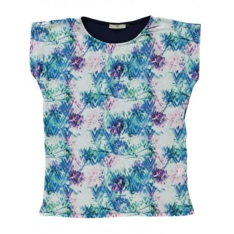 T-shirt zig-zag